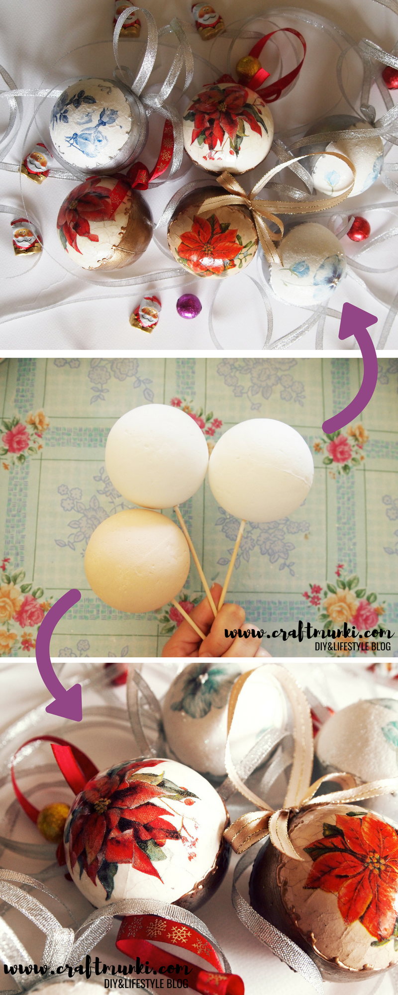 Craftmunki Amazing Diy Christmas Ornaments To Try Right Now Which Are Easy Too